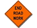 Where to rent SIGN, END ROAD WORK in Santa Rosa CA
